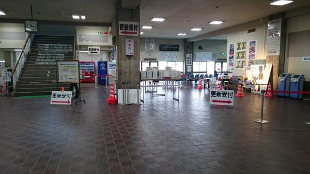 羽束師試験場_館内通路